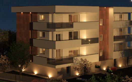 appartamento con terrazza a Brescia